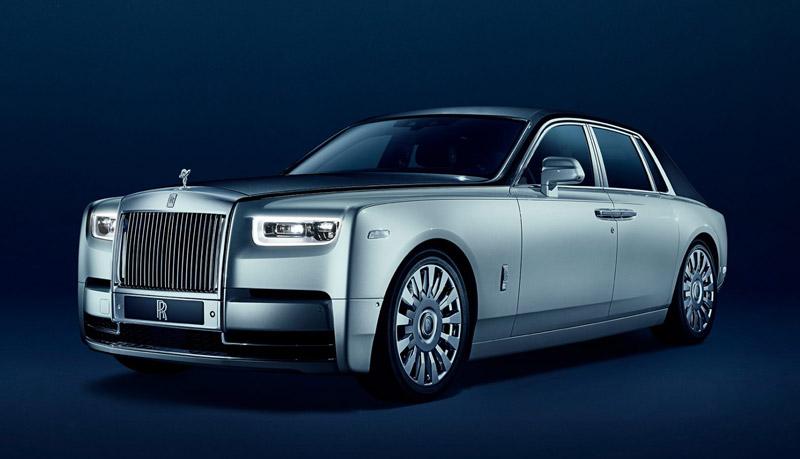 Rolls Royce Phantom en location avec chauffeur à Paris
